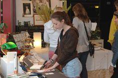 Guests at the Felix Doolittle open studio.  www.felixdoolittle.com