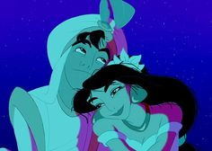 Aladdin and jasmine love - Disney Ideen Walt Disney, Disney Magic, Disney Art, Jasmine Disney, Aladdin Et Jasmine, Disney And Dreamworks, Disney Pixar, Disney Characters, Disney And More