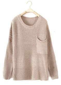 pocket pullover.