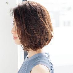 清潔感と女らしいを両立!丸みのあるふんわりボブMarisol ONLINE|女っぷり上々!40代をもっとキレイに。
