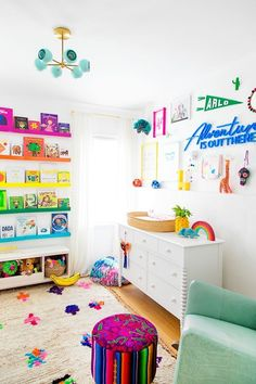 6 Hottest Baby Nursery Decor Trends for 2019 into 2020 Kids Room Design Baby Decor Hottest Nursery Trends Playroom Design, Kids Room Design, Playroom Ideas, Playroom Color Scheme, Children Playroom, Kid Playroom, Playroom Decor, Baby Nursery Decor, Nursery Themes