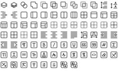 Native line icons pack - Round Icons Premium All Icon, Icon Set, Icon Tattoo, Icon Pack, Line Icon, Tool Design, Nativity, Tools, Instagram