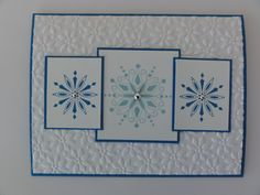 CAS 145 Winter/Christmas by djahner - Cards and Paper Crafts at Splitcoaststampers