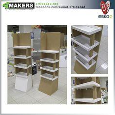 Pos Design, Stand Design, Display Design, Retail Design, Cardboard Storage, Cardboard Design, Cardboard Display, Sock Display, Shop Shelving