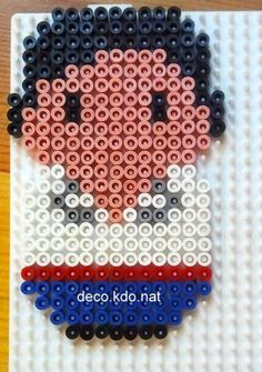 Prince Eric - The Little Mermaid hama perler beads by Deco.Kdo.Nat