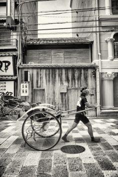 Rickshaw, Kyoto, Japan | by Jasper Enujuba on 500px