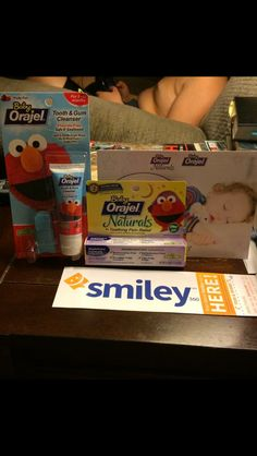 I received a free sample of Baby  Orajel Naturals from Smiley 360. I recommend trying Baby Orajel Naturals on your baby it helps soothes your baby gums while they are teething and the gum brush helps to clean the gums and helps soothe the gums also and the best part is that is all natural so it's safe for your baby! I had a great experience with this brand. #FreeSample