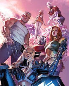 X-Men by CLAY MANN