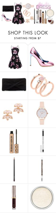 """""""Sem título #75"""" by giihnunes ❤ liked on Polyvore featuring Yves Saint Laurent, Reiss, Michael Kors, Kate Spade, Olivia Burton, Barry M, Marc Jacobs, MAC Cosmetics, Urban Decay and dreamydresses"""