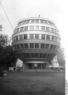 First German spheric house, 1930, Dresden