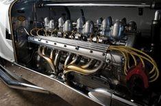 1931 miller v16 racing car engine 620 x 412 1931 Miller V16 Racing Car – hmmm,... funny how modern things were in 1931.