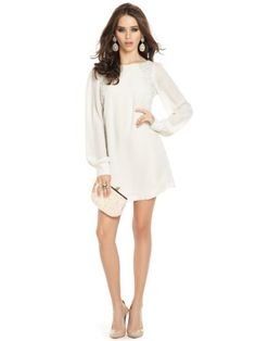 GUESS by Marciano Women's Farha Dress, PORCELAIN « Clothing Adds Anytime