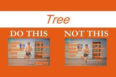Looking to perfect the tree yoga pose? Review this tree yoga pose guide that visually explains what to do and what not to do.