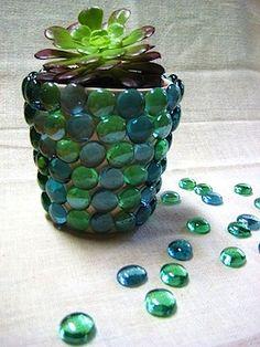 Homemade vase