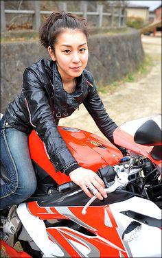 AI / Aprilia RS125 ガールズライダー 【STREET-RIDE】ストリートバイク ウェブマガジン