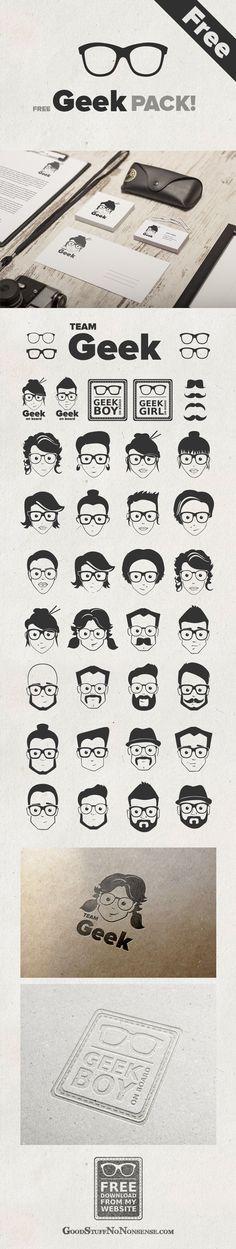The Geek Pack! Sweet free downloads from goodstuffnononsense.com