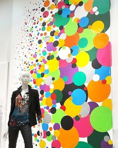 """SAKS FIFTH AVENUE, Phoenix, Arizona, """"Women's Contemporary"""",  for Alice and Olivia, pinned by Ton van der Veer"""