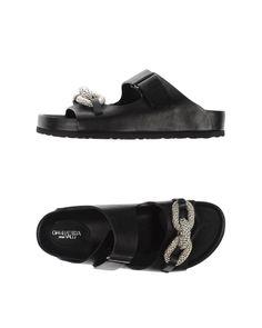 Giambattista Valli | Black Sandals | Lyst