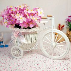 Free Shipping,quality rattan  vase + flowers meters orchid artificial flower set home decoration FL13008