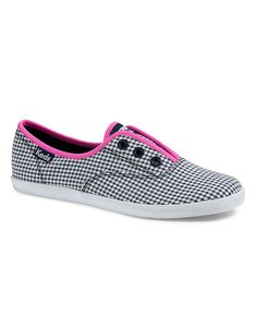 Shoes | Women's Shoes | Rookie Laceless Gingham | Hudson's Bay