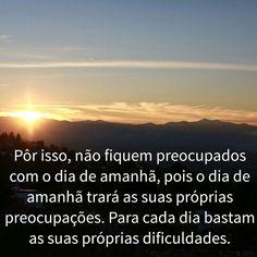 Não existe dificuldades para quem crê em Deus.