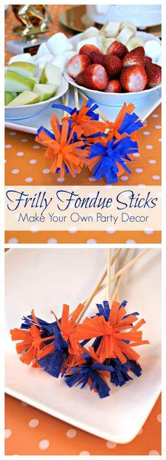 DIY Fondue Sticks ~