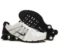 1683 : Nike Shox Turbo 21 Herr Svart Vit SE135864iEaerB