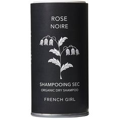 French Girl Organics Organic Vegan Dry Shampoo (Rose, 4 oz) ($34) ❤ liked on Polyvore featuring beauty products, haircare, hair shampoo, dry hair shampoo and waterless hair shampoo