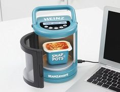 USB Microwave Oven is the smallest in the world. IT'S LIKE AN EASY-BAKE FOR ADULTS