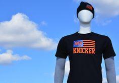 """KNICKS """"MY KNICKER"""" T-SHIRT If you're a Knicks fan then you're My Knicker. Printed on American Apparel Unisex Crewneck Fine Jersey. myknicker.com"""