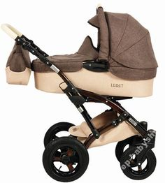 Wózek 2w1 TAKO Laret imitacja lnu brąz/krem (4588218171) - Allegro.pl - Więcej niż aukcje. 1450