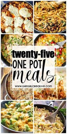 25 One Pot Meals perfect for the busy working, soccer, stay-at-home mom. Delicious quick dinners for the family on the go. Pasta recipes, rice recipes, soups and more. dinner recipes for family busy mom One Pot Meals for the Busy Sports Mom Fall Soup Recipes, Quick Dinner Recipes, Recipes For One, Thanksgiving Recipes, Quick Easy Healthy Dinner, Easy Dinner For Two, Cheap Pasta Recipes, Quick Family Recipes, Christmas Recipes