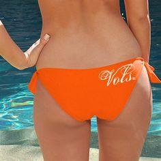 Tennessee Volunteers Ladies Tennessee Orange Team Bikini Bottom  #FanaticsSummerWishList