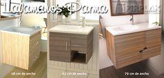 ¡Uno para cada estilo! Con un concepto moderno y minimalista, los #lavamanos Parma tipo vanity son ideales para griferías bajas con aereador y perfectos para renovar tu baño.  www.firplak.com