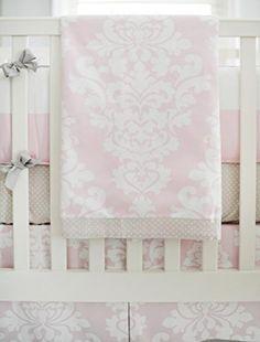 New Arrivals 4 Piece Crib Bedding Set Cross My Heart