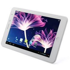 H7000 MTK8377 Tablet PC http://www.aulola.com/h7000-mtk8377-tablet-pc-7-inch-ips-screen-android-4-1-3g-gps-bluetooth-dual-sim-card-monster-phone-dual-camera-white.html