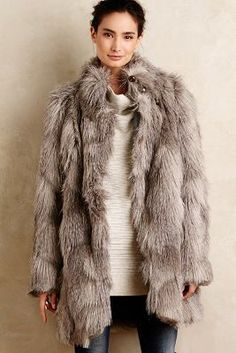 Silvester-outfits, Wintergarderobe, Kunstpelz, Tracy Reese, Herbst Mäntel,  Damenmäntel, 450d235ec5