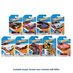 Hot Wheels Worldwide Basic Cars 2017 Wave 10 Case Mattel Hot Wheels Vehicles: Die-Cast