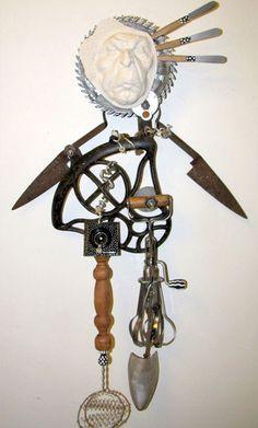 found+objects+art | Found Object Art Gallery 3 | Art By Keri Joy Colestock