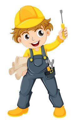 View album on Yandex. Construction Birthday Parties, Construction Party, Construction Worker, Art Wall Kids, Art For Kids, Crafts For Kids, Cartoon Pics, Cartoon Characters, Engineer Cartoon