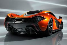 The Supercar To Run Laps Around All Other Supercars. The McLaren P1 Is Unveiled.