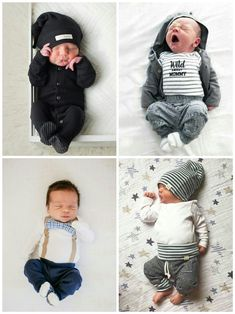 Our newborn boy dress & baby clothes are really lovely. Outfits Niños, Cute Baby Boy Outfits, Cute Baby Clothes, Baby Boy Newborn, Baby Boys, Cute Baby Pictures, Everything Baby, Baby Kind, Baby Boy Fashion