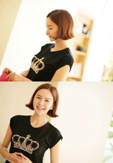 Today's Hot Pick :ビジュー装飾クラウン半袖Tシャツ【Lemite】 http://fashionstylep.com/SFSELFAA0013949/min3111jpp/out 伸縮性のあるポリエステル混紡素材を使った半袖Tシャツです。 フロントのビジュー装飾クラウンがインパクト大! ソフトな肌触りでナチュラルな着心地に☆ 適度にフィット感のあるタイプでスリムなボディーラインに♪ ※交換、返品が難しい商品ですので慎重にご検討下さい。
