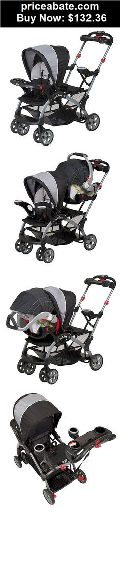 Baby: BRAND NEW! Baby Trend Sit N Stand Ultra Tandem Foldable Stroller (Phantom) - BUY IT NOW ONLY $132.36