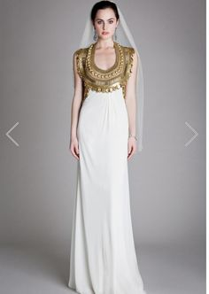 Greek Wedding Gown