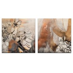 Ready2hangart Alexis Bueno 'Painted Petals X' 2-piece Canvas Wall Art - Overstock™ Shopping - Top Rated Ready2hangart Canvas
