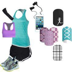 Going the Distance Jamberry, Distance, Basic Tank Top, Running, Tank Tops, Polyvore, Wraps, Shopping, Nike