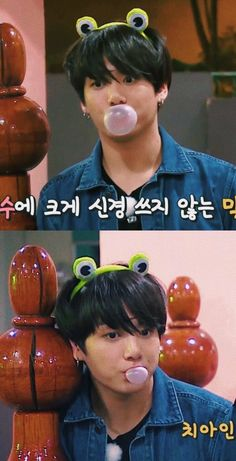 Awwn, my sweet boy! ㅠ.ㅠ I want to squeeze his cute cheeks!!~❤ #JUNGKOOK