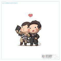 El amor es... nuestros selfies