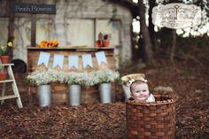 Ronda Wollard Originals » Blog - Fresh Flower Stand Children's Mini Sessions